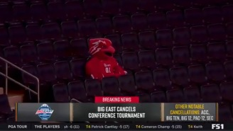 Viral Photo Of The St. John's Mascot Is All Of Us Right Now, As Is One Fan's 'One Shining Moment' Parody