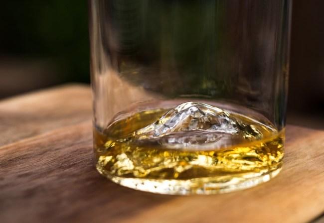 Whiskey Peaks Rocks Glasses American Mountains
