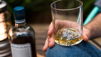 Celebrate America's Greatest Mountains (And Bourbon) With Whiskey Peaks Rock Glasses