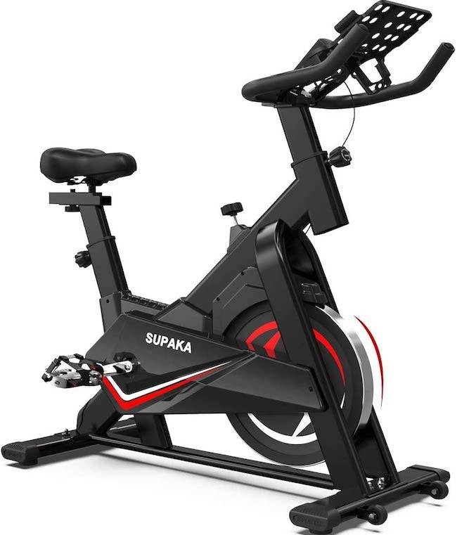 LABODI Exercise Bike, Stationary Indoor Cycling Bike
