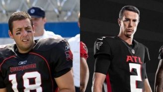 The Carolina Panthers Hilariously Trolled The Atlanta Falcons Over New Uniforms That Look Like They Came Out Of 'The Longest Yard' Movie
