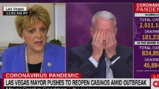 Las Vegas Mayor Gives Bizarre Interview With Anderson Cooper, Says She Wants Casinos Reopened Because She Thinks 'We've Had Viruses For Years That Have Been Here'