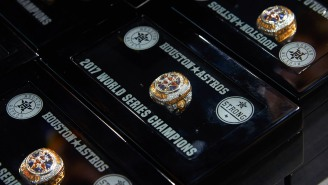 Astros Block Auction Of Tainted 2017 World Series Ring Being Sold To Support Relief Efforts