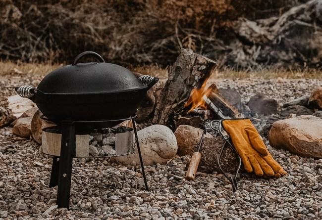 Barebones Cast Iron All-In-One Grill