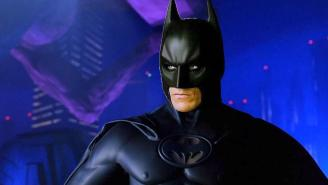 This Video Of Christian Bale Wearing Val Kilmer's Batsuit Is An Absolute Acid Trip