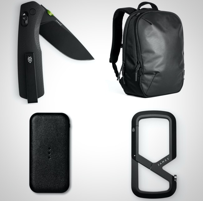 best black every day carry gear for men