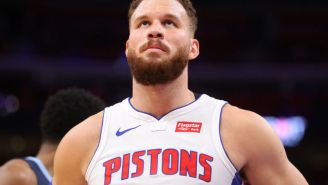 Blake Griffin Put TMZ On A Poster For Creeping On Him And His Kids During A Family Shootaround