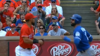 This Break Down Of The Time Rougned Odor Punched Jose Bautista In The F'n Face Is Today's Sports Fix
