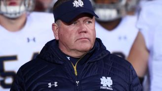 Brian Kelly Gives Interesting Answer When Asked If He's Ever Had The Itch To Coach In The NFL