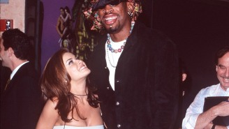 Carmen Electra Says She And Dennis Rodman Went Buck Wild All Over The Bulls' Practice Facility