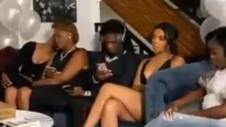 NBA Star Trae Young Reacts To Ex-Girlfriend Crymson Rose Having Issues With Her Boyfriend CeeDee Lamb On Live TV During NFL Draft