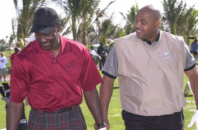 charles barkley michael jordan golf story 36 holes olympics
