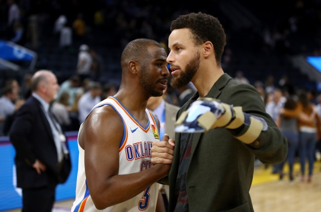 Chris Paul details how he shutdown a 2011 trade with the Golden State Warriors that would've involved both Stephen Curry and Klay Thompson