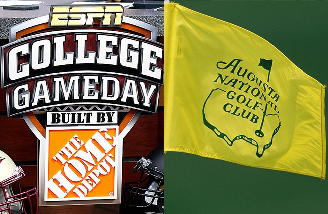 college gameday the masters augusta november