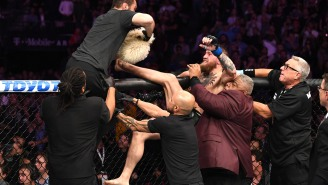 Conor McGregor Breaking Down The Blow-By-Blow Of The Insane Brawl After The Khabib Fight Is Pure Gold