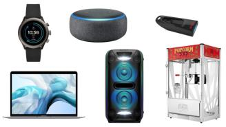 Daily Deals: Smart Speakers, Popcorn Machines, Computers, Sling TV And More!