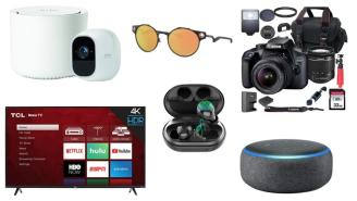 Daily Deals: Security Systems, Camera Bundles, Sunglasses Sales, Earbuds And More!