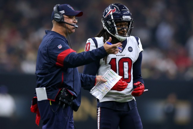 DeAndre Hopkins describes his nonexistent relationship with Bill O'Brien and said he was happy Texans traded him