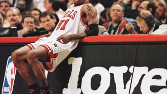 Dennis Rodman Once Partied In A Gentlemen's Club Till 5 A.M. And Then Grabbed 20 Rebounds Later That Day