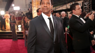 Denzel Washington Pulled Over On The Side Of The Road To Help A Homeless Man With The LAPD