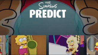 Disney+ Now Has An Entire Section Of 'The Simpsons' Episodes Where They Predict The Future