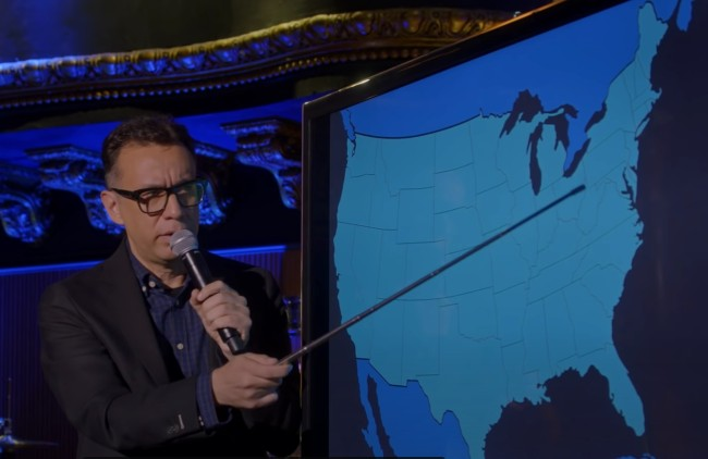 Fred Armisen Every Accent America