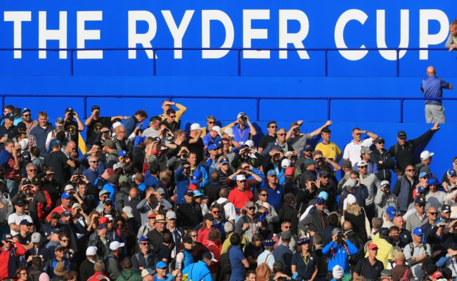 ryder cup no fans virtual experience