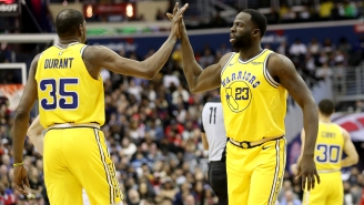 Draymond Green Breathes Life Into The Pettiest Feud In Basketball By Unfairly Ripping The Way Kevin Durant Handled Last Season