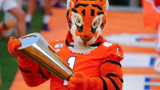 Clemson Has Added Two New 'Victory Tombstones' To It's Very Strange 'Graveyard' Outside Its Football Complex