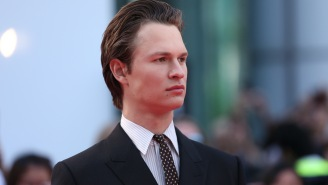 Ansel Elgort Posts A Steamy Photo To Raise Awareness For A Charity