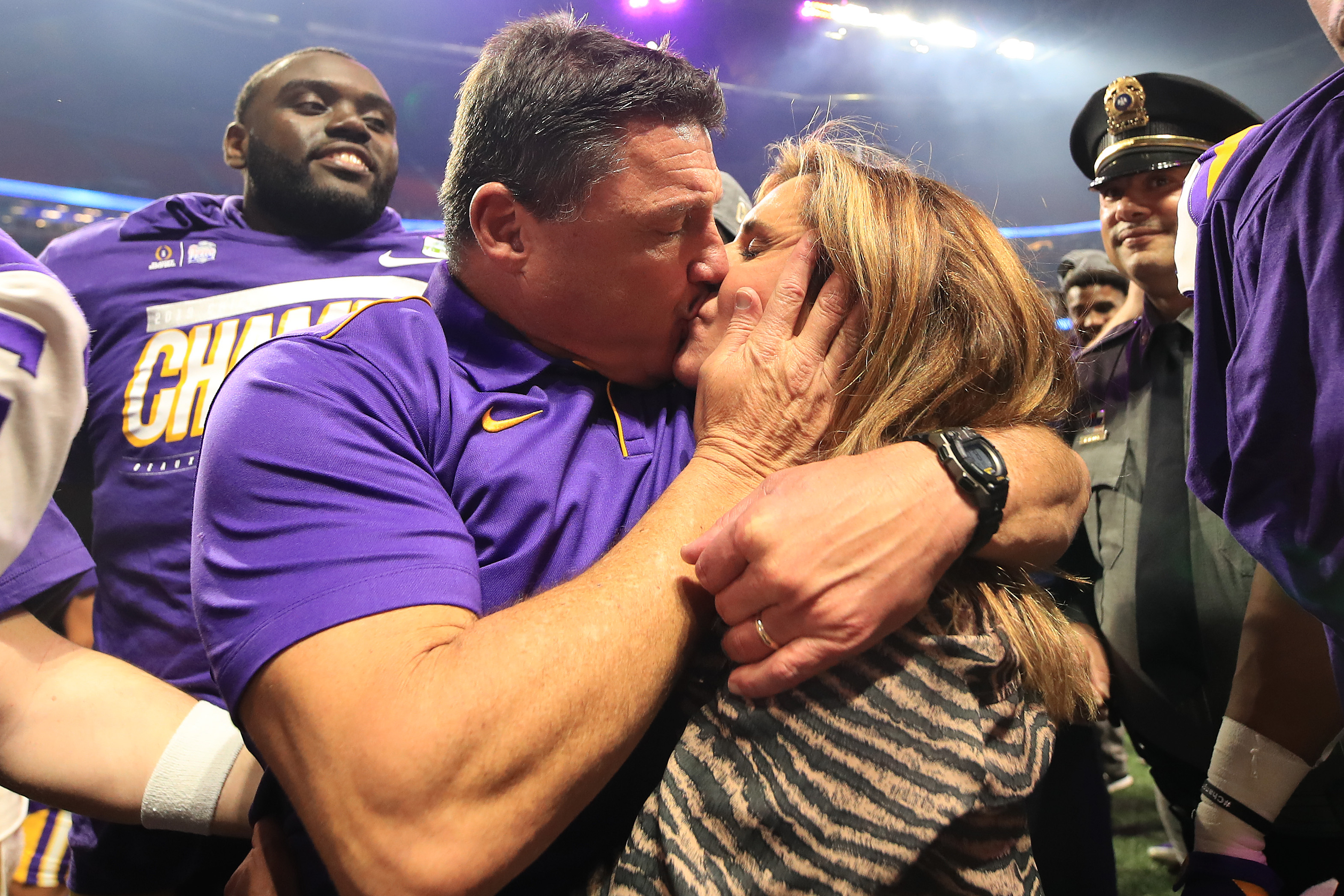 Ed Orgeron Files For Divorce From His Wife Of 23 Years After Living Apart For A Month