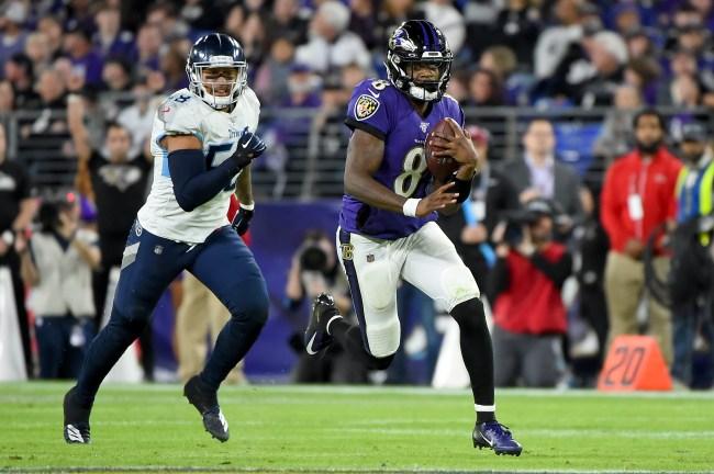 Lamar Jackson NFL Baltimore Ravens
