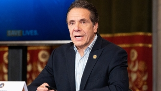 Governor Andrew Cuomo Got A Haircut. How?