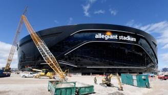 Las Vegas Raiders New Stadium Is Almost Complete And The Inside Looks Unbelievable