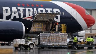Patriots Use Team Plane To Bring Over 1 Million Masks To United States From China In Complicated Operation