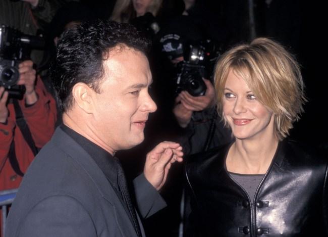 Tom Hanks at You've Got Mail movie premiere