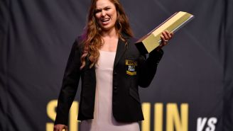 Ronda Rousey Just Double-Downed On Calling Out WWE Fans