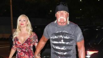 Hulk Hogan Gets Body Slammed For Photo Of His Wife Jennifer Celebrating Being 'Back On The Beach'