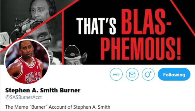 Interview With The Creator Of Stephen A Smith Burner Twitter Account