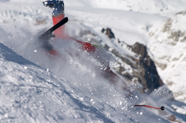Ski Crash Wipeout Reel