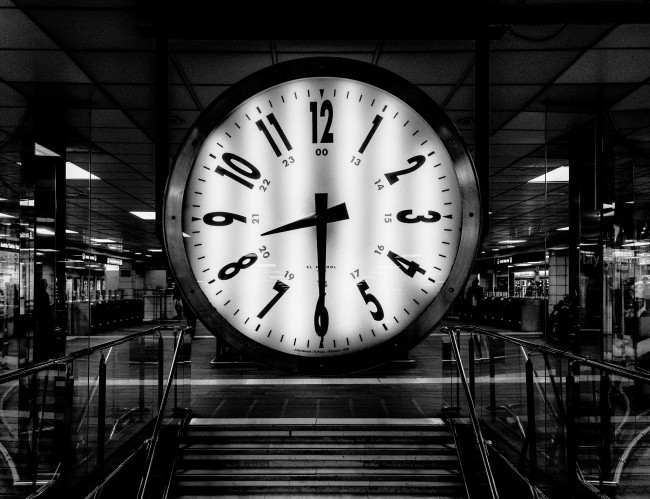 Jeff Bezos Mountain Clock