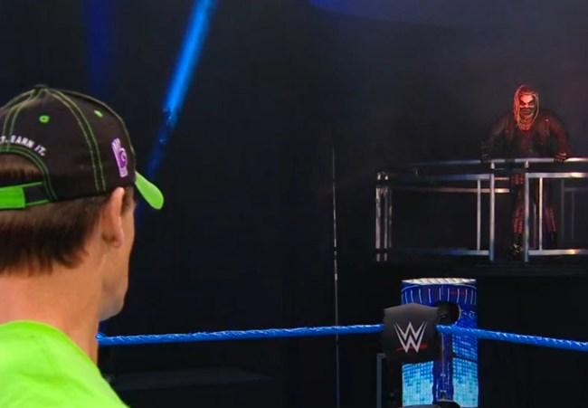 John Cena Bray Wyatt Wrestlemania