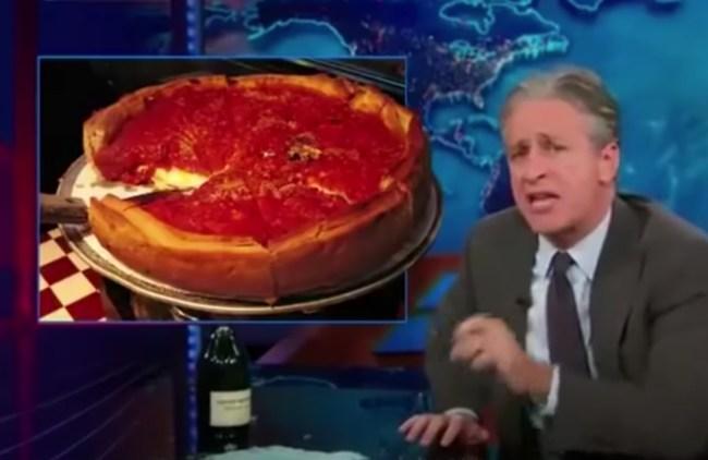 Jon Stewart Pizza Rant