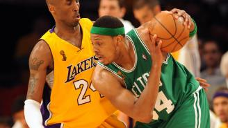 Kobe Bryant Used An A+ Motivational Method After Paul Pierce's Celtics Won The 2008 NBA Finals Over His Lakers