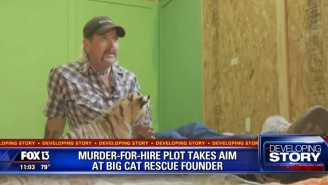 Local TV News Reports About Joe Exotic And Carole Baskin From 2017 To 2019 Are Like A Wormhole Filled With Crack