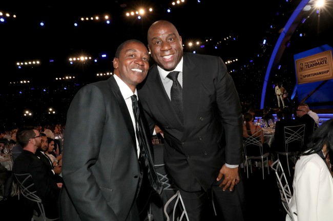 According to Magic Johnson, he helped keep Isiah Thomas off the '92 Dream Team because of demeaning comments
