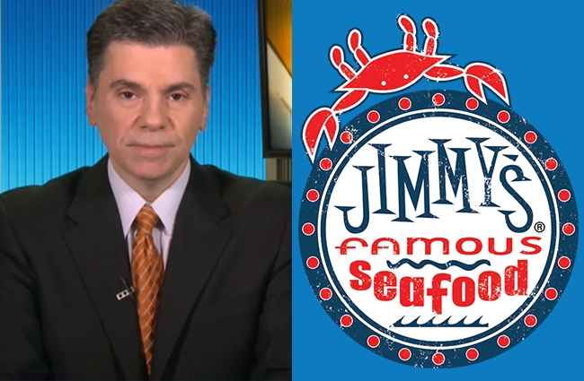 mike florio jimmy's famous seafood twitter