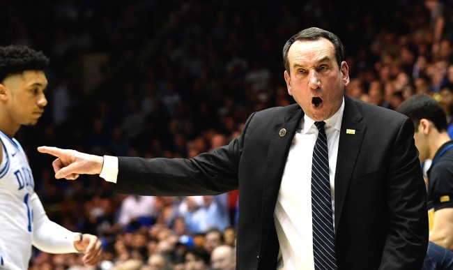 Mike Krzyzewski Criticizes College Coaches Poor Handling Of Pandemic