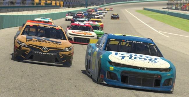 motorsports benefit video game races