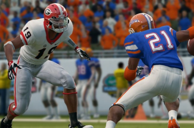 ncaa football video game returning compensation